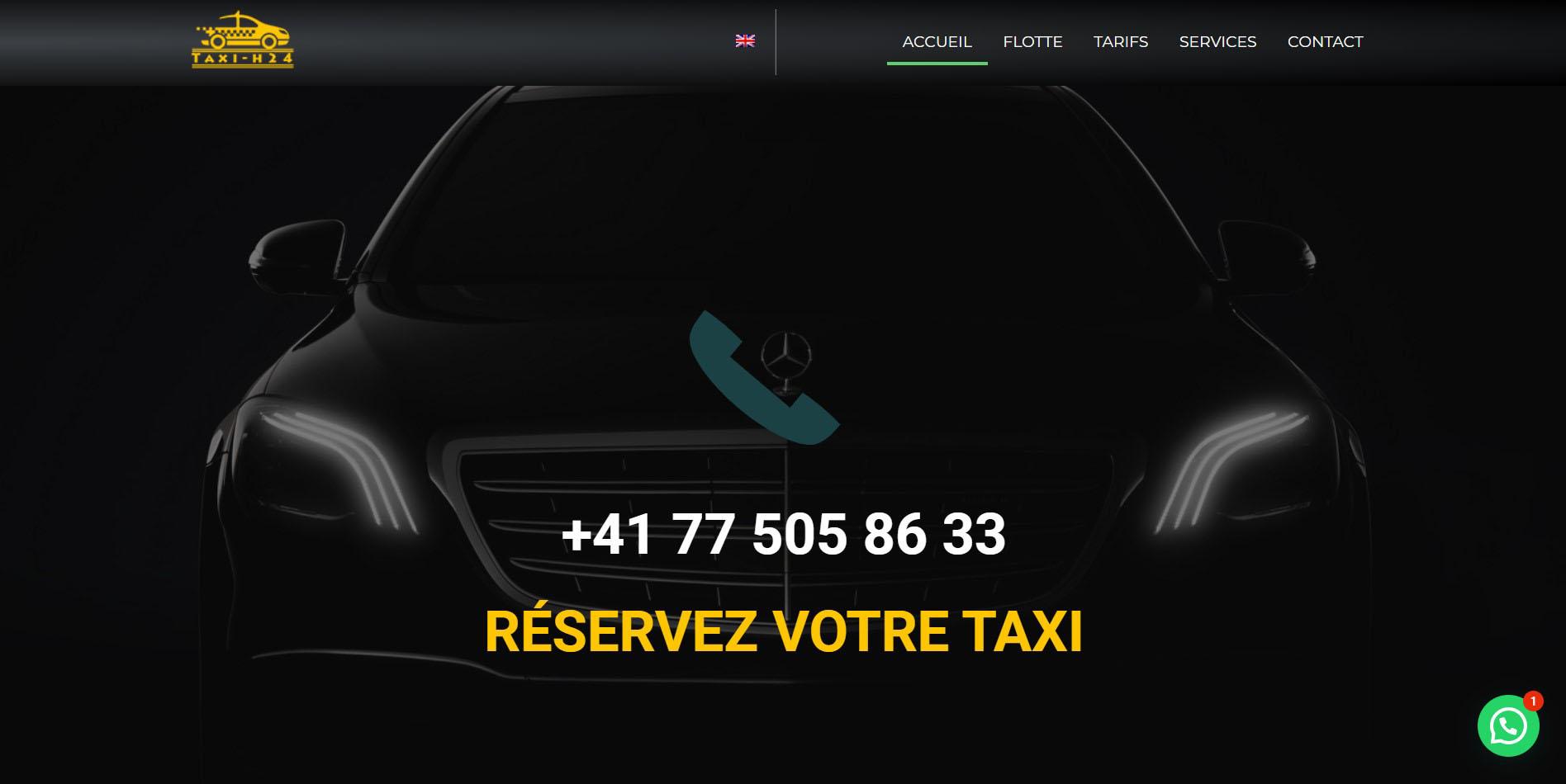 taxi-services-website-development